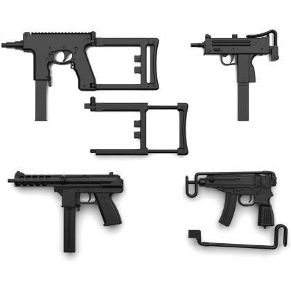 TOMYTEC Little Armory LA058  Compact SMG Set  Plastic Model Kit
