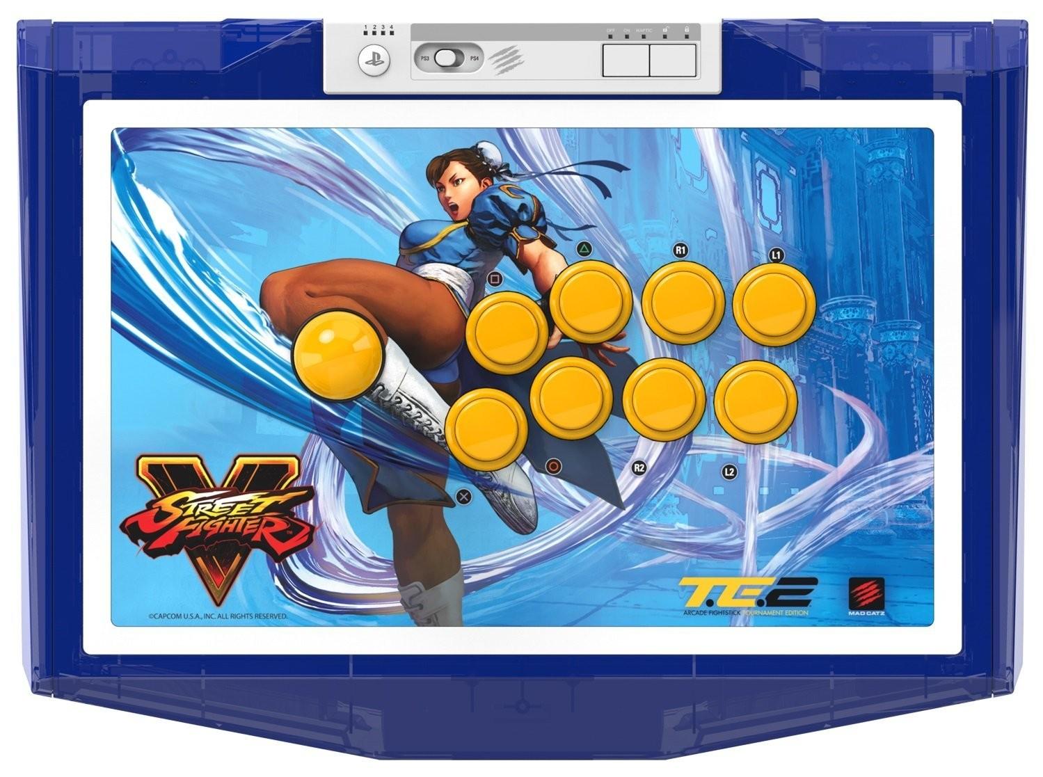 Mad Catz MCS-FS-SFV-TE2-CHL PS3 / PS4 Street Fighter V Arcade