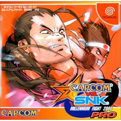 CAPCOM - Capcom vs. SNK: Millennium Fight 2000 Pro for SEGA Dreamcast