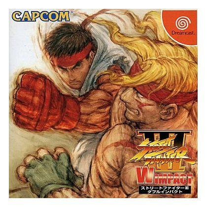 CAPCOM - Street Fighter III: W Impact for SEGA Dreamcast