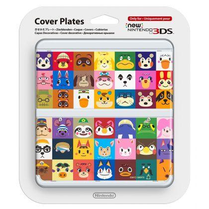 Kisekae plate No.068 (Animal Crossing) NINTENDO 3DS