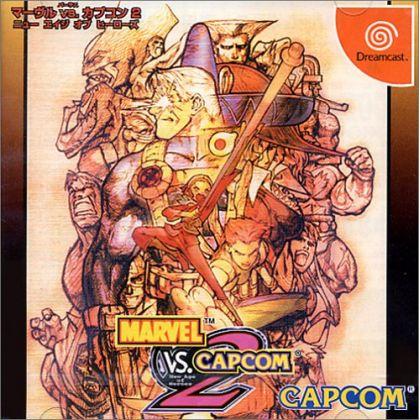CAPCOM - Marvel vs. Capcom 2: New Age of Heroes for SEGA Dreamcast