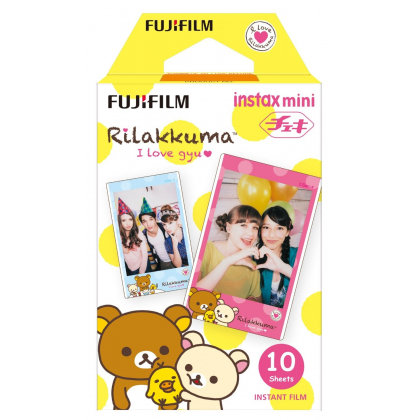 FUJIFILM Instax film 10 pieces picture (Relax) INSTAX MINI RILAKKUMA WW1