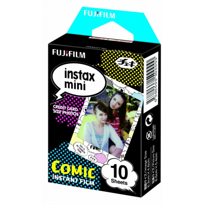 FUJIFILM Instax film 10 pieces picture (Comic) INSTAX MINI COMIC WW 1