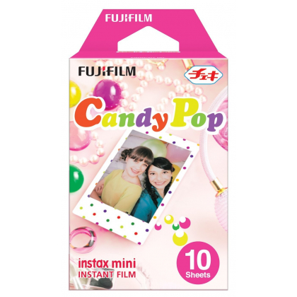 FUJIFILM Instax film 10 pieces pattern (Candy Pop) INSTAX MINI CANDYPOP WW 1
