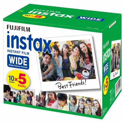 FUJIFILM 50 sheets instant camera wide for film input INSTAX WIDE K R 5