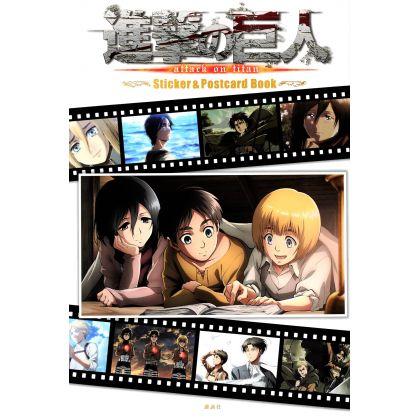 KODANSHA - Shingeki no Kyojin - Stickers & Postcard Book