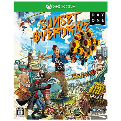 Sunset Overdrive DayOne  Xbox One