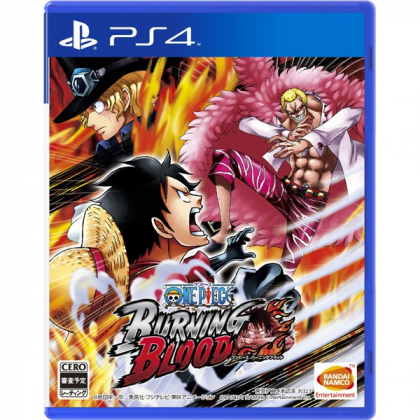 BANDAI NAMCO ONE PIECE BURNING BLOOD PS4 SONY