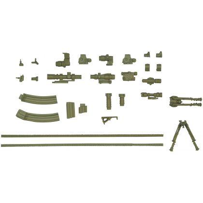 TOMYTEC Little Armory LA022  Guns Accessories A2  Plastic Model Kit